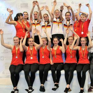 Juniorensportler bei der Deutschen Juniorenmeisterschaft in Köln